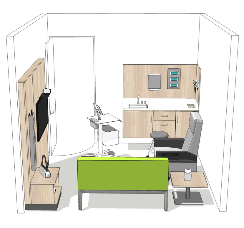 design of medical exam room can make a difference