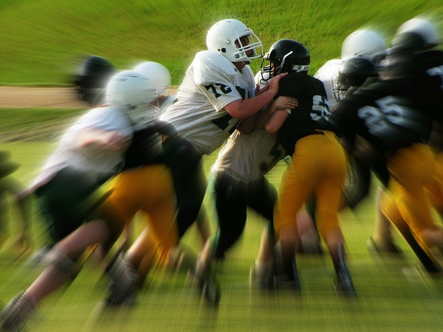 Image result for football collisions blur